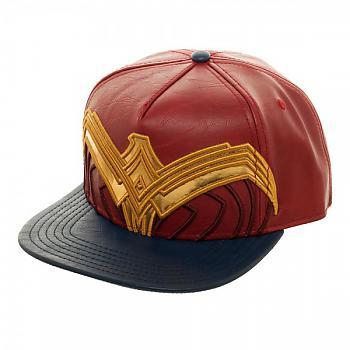 Wonder Woman Cap - Suit Up Applique Snapback
