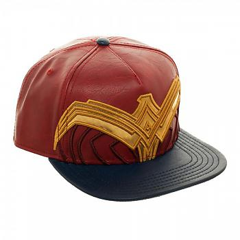 Wonder Woman Cap - Suit Up Applique Snapback