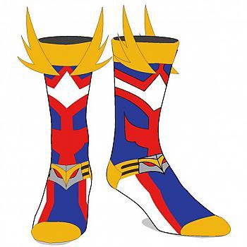 My Hero Academia Socks - All Might Cosplay