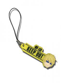 Durarara!! Phone Charm - Keep Out and Shizuo