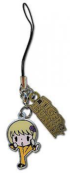 Tiger & Bunny Phone Charm - Pao-Lin SD Logo Metal