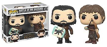 Game of Thrones POP! Vinyl Figure - Jon Stark Vs. Ramsay Boltron (2-Pack) (Battle of the Bastards)