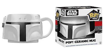 Star Wars POP! Home Ceramic Mug - Boba Fett Proto Head