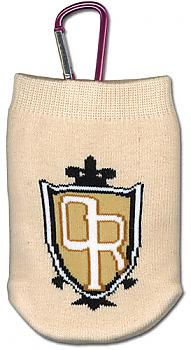 Ouran High School Phone Bag - School Crest Knitted