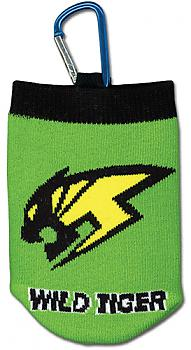 Tiger & Bunny Phone Bag - Wild Tiger Knitted
