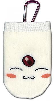 Tsubasa Phone Bag - White Mokona Knitted