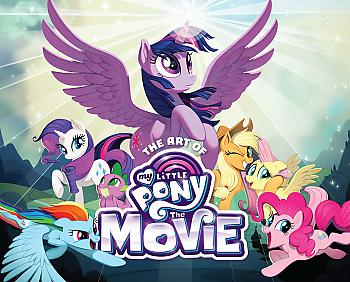 My Little Pony Art Book - The Movie