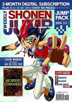 2014 Issue 01 Magazine w/ Yu-Gi Shonen Jump Pack - Oh! Archfiend Commander CCG