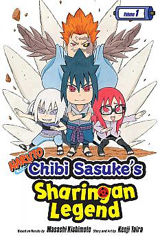 Naruto: Chibi Sasuke's Sharingan Legend Manga Vol. 1