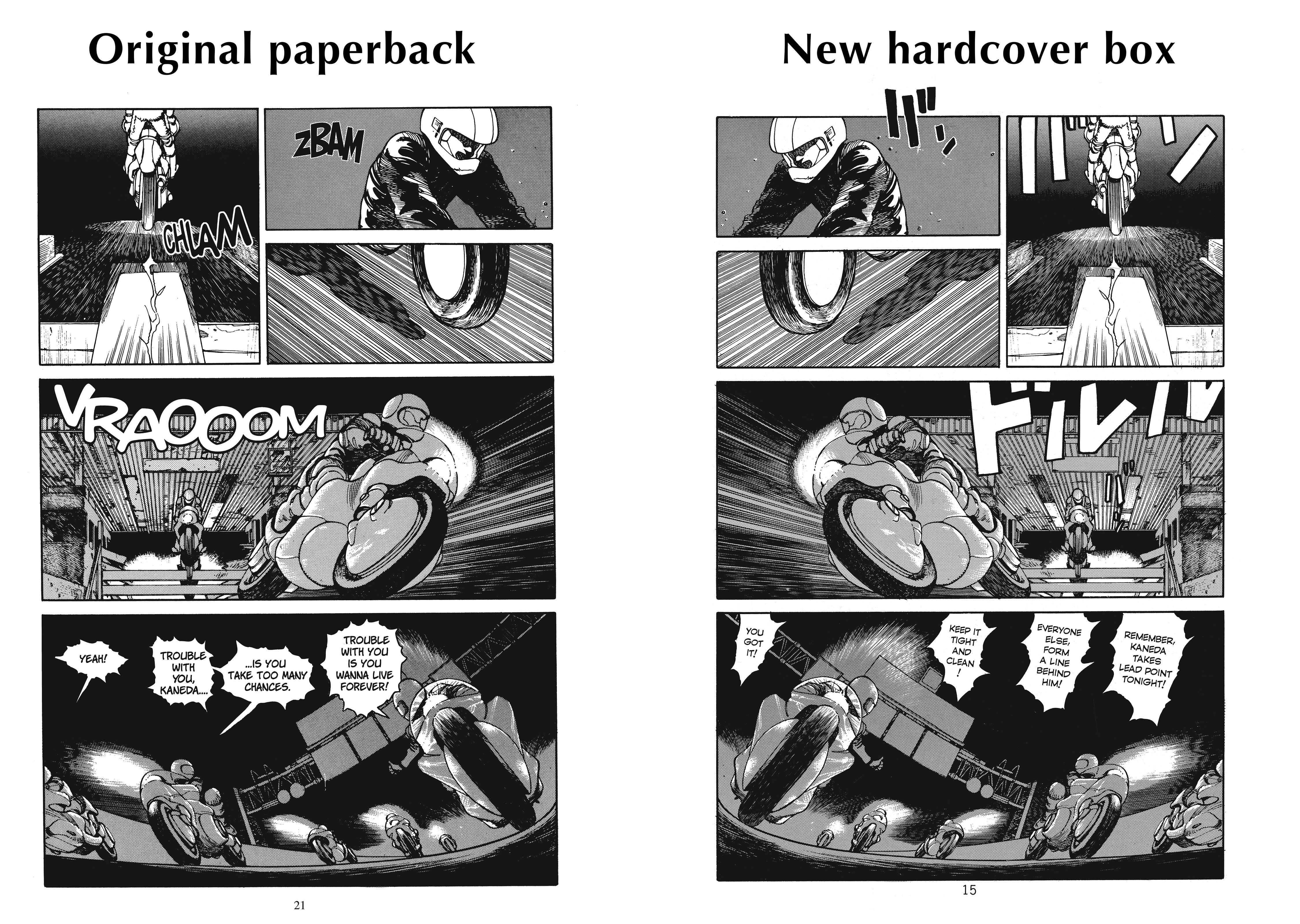 Akira 35th Anniversary Manga Box Set Archonia Us