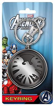 Avengers Key Chain - Eagle Shield Logo