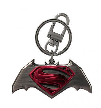 Batman V Superman Key Chain - Color Logo