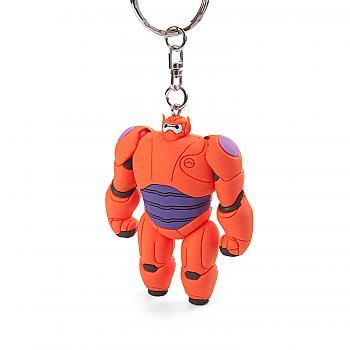 Big Hero 6 Key Chain - Baymax 3D Figural Soft Touch (Disney)