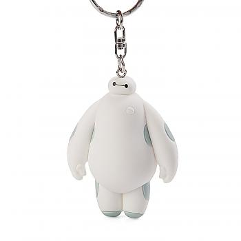Big Hero 6 Key Chain - Nurse Baymax 3D Figural Soft Touch (Disney)