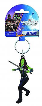 Guardians of the Galaxy Key Chain - Gamora Soft Touch