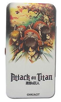 Attack on Titan Hinge Wallet - Key Art