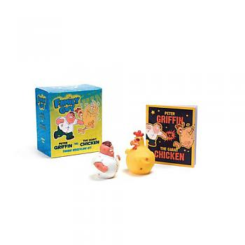 Family Guy Kit - Peter Griffin vs. The Giant Chicken Thumb Wrestling with Book