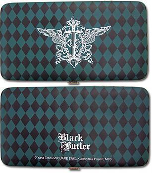 Black Butler Hinge Wallet - Phantomhive Emblem