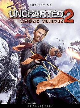 The Art of Uncharted 2 Art Book - Among Thieves