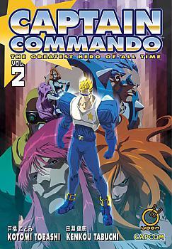 Captain Commando Manga Vol. 2