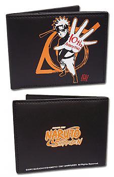 Naruto Shippuden Bifold Wallet - 10th Anniversary