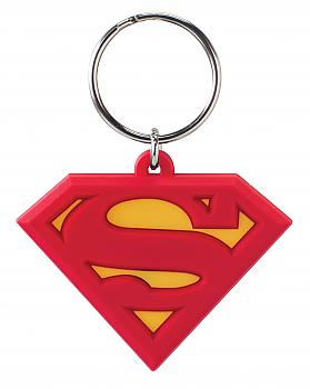 Superman Key Chain - Symbol Color Soft