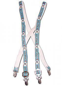Dragon Ball Z Suspenders - Capsule Corp