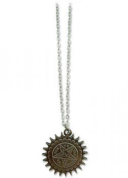 Black Butler Necklace - Pentacle Emblem