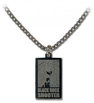 Black Rock Shooter Necklace - BRS Rectangle