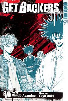 Get Backers Manga Vol. 10