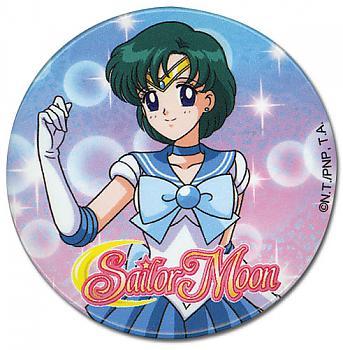 Sailor Moon 2'' Button - Sailor Mercury