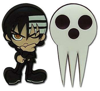 Soul Eater Pins - Kid and Skull (Set of 2)