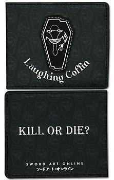 Sword Art Online Bifold Wallet - Laughing Coffin Kill or Die