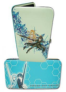 Sword Art Online Hinge Wallet - Kirito & Asuna