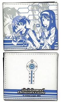 Vividred Operation Bifold Wallet - Akane & Aoi