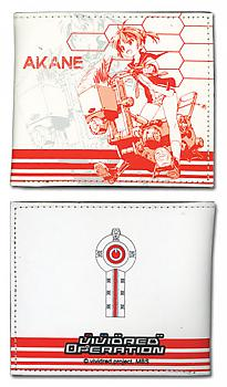Vividred Operation Bifold Wallet - Akane Red