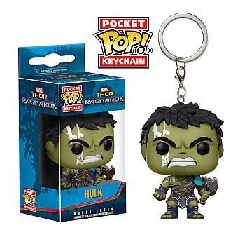 Thor Ragnarok Pocket POP! Key Chain - Gladiator Hulk