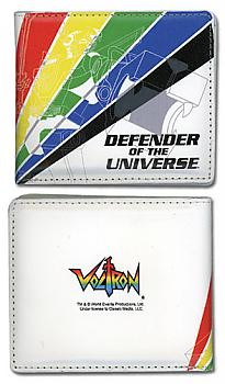 Voltron Bifold Wallet - Battle Pose Defender of the Universe 5 Color