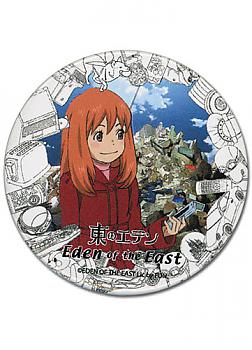 Eden of the East Button - Morimi