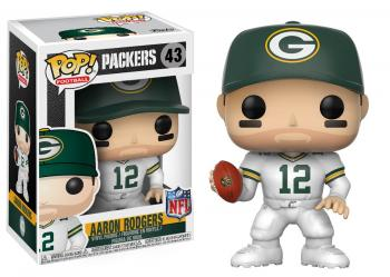 NFL Stars POP! Vinyl Figure - Aaron Rodgers (Green Bay Color Rush)