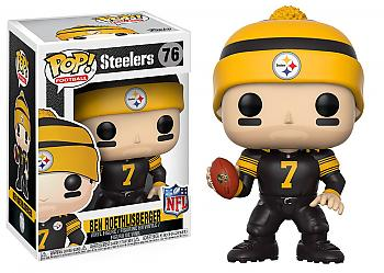 NFL Stars POP! Vinyl Figure - Ben Roethlisberger (Steelers Color Rush)
