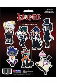 D Gray Man Magnet - Cutout Chibi Characters
