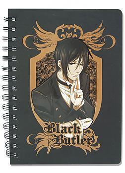 Black Butler Notebook - Sebastian Michaelis