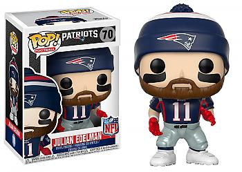 NFL Stars POP! Vinyl Figure - Julian Edelman (Patriots Home)