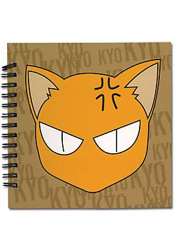 Fruits Basket Notebook - Kyo Cat Head