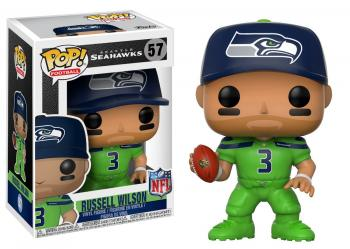 NFL Stars POP! Vinyl Figure - Russell Wilson (Seahawks Color Rush)