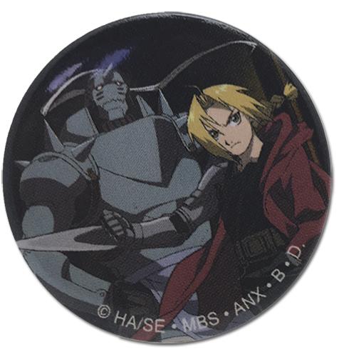 Fullmetal Alchemist Brotherhood Button - Ed & Al @Archonia_US