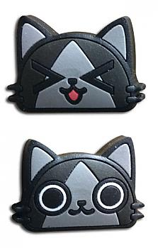 Monster Hunter Pins - Merarou Faces (Set of 2)