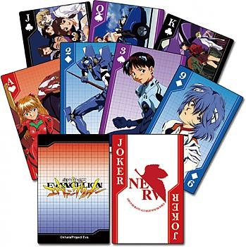 Evangelion Playing Cards