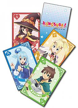 Konosuba Playing Cards